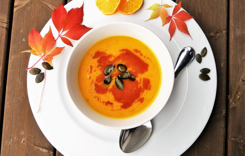 Five Spice Pumpkin Soup
